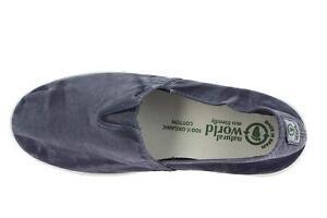 check-out e512a 27c39 Dettagli su Natural World Eco Camping Enzimatico Shoe Scarpe Ecologico  Originale Blu Mare