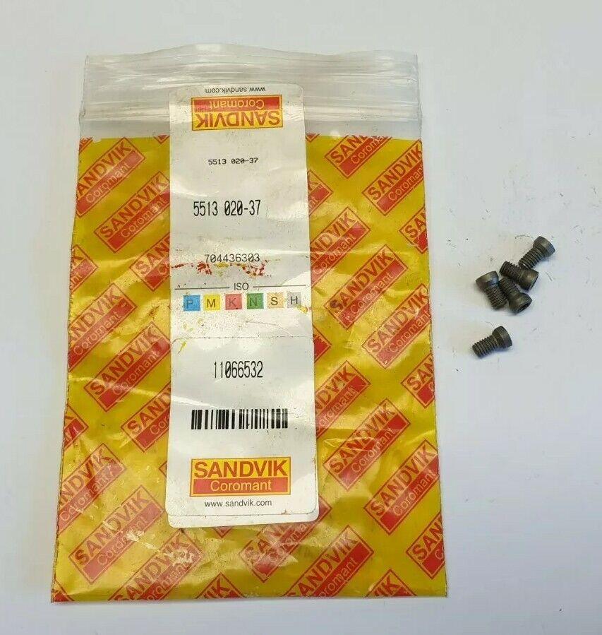 Image 1 - 5x Sandvik Coromant 5763153 Countersunk Head Screw for Toolholders 5513 020-37