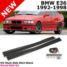 BMW E36 3-Series 92-98 PP 2/4 D Euro M-Tech M3 Style Side Skirts Body Kit