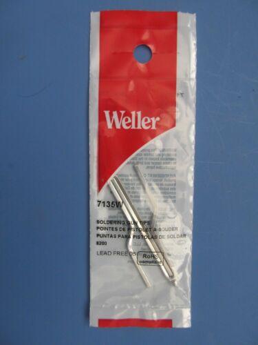 Weller 7135 W #7135 remplacement à souder pistolet Astuce 8200 Pack de 2 NEUF