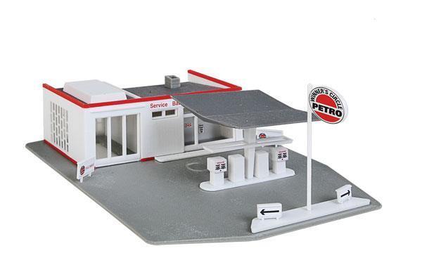 Walthers 920 Trainline Bausatz  Gas Station         Bevorzugtes Material  fabc90
