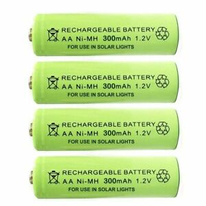 AA-Ni-MH-300mAh-1-2V-Rechargeable-Solar-Light-Batteries-For-Garden-Lights-amp-Decor