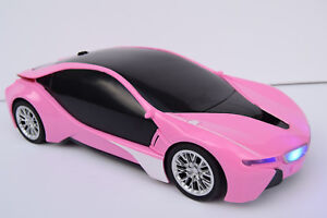 Image Is Loading Pink Bmw I8 Radio Remote Control Car 1