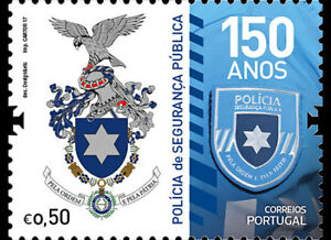 Portugal-2017-The-Portuguese-Public-Security-Police-stamp-set-mnh