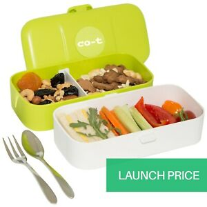 4 compartment Bento Lunch Box for Adults Leakproof Bento Snack Box Microwave