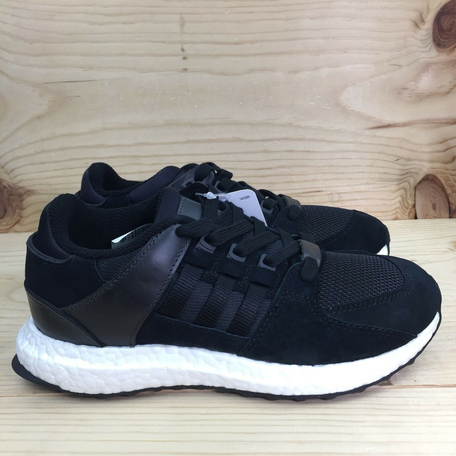 Adidas EQT Support Ultra Boost Mens Size 5 Womens Size 6 Black shoes