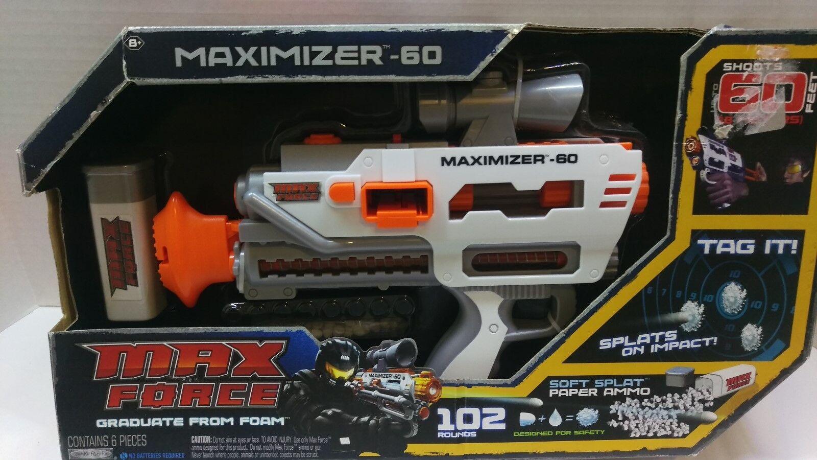 Max Force Maximizer-60 Spitball Spitball Spitball New 4528fb