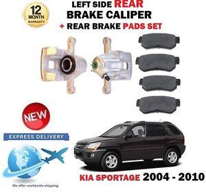 FOR KIA SPORTAGE 2.0 CRDI 2.7 2.0i 2004-2010 REAR LEFT BRAKE CALIPER + PADS SET