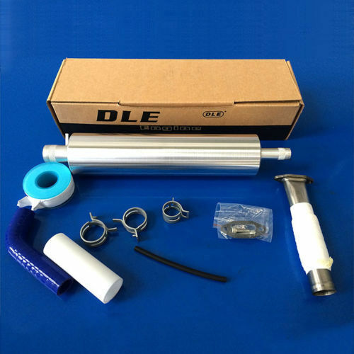 DLE Rear Exhaust Pipe /& Muffler for DLE35RA Engine