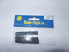 B T Models L-10 L10 STEEL BAR LOAD (3 PIECES)  1/76 OO Scale
