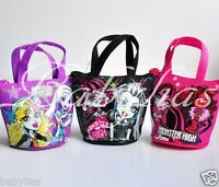 12 Monster High Party Favors Birthday Coin Purse Lot Pack Bags Supplies Loot