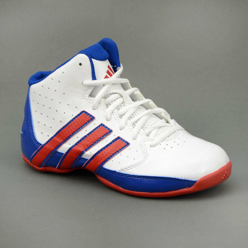 Adidas Rise Up 2 NBA blanc bleu rouge Mod. C75959