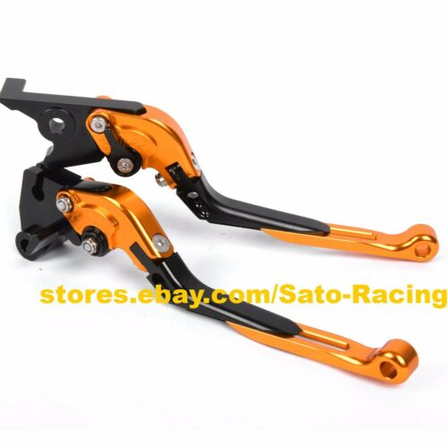 For Kawasaki ZX9R//ZX10R//Z1000 CNC Adjust Folding Extending Brake Clutch Levers