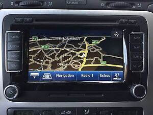 genuine rns 510 vw scirocco golf touran passat sat nav unit sd mp3 dvd ebay. Black Bedroom Furniture Sets. Home Design Ideas