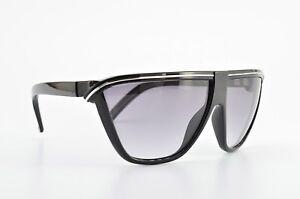 GIANNI-VERSACE-Sonnenbrille-Mod-Metrics-62-11-130-90s-Shades-Black-Silver-NOS