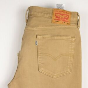 Levi's Strauss & Co Hommes 514 Slim Jambe Droite Jeans Extensible Taille W36 L30