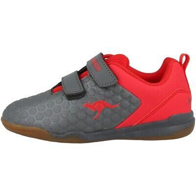 Kangaroos Speed Court V Sneaker Bambini Scarpe Da Ginnastica Steel Grey 18384-2015-mostra Il Titolo Originale Delizioso Nel Gusto