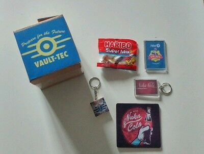 Fallout   inspired prefilled party  boxes Christmas//birthday//stocking fillers