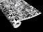 30x150cm Erlkönig tarnfolie pour prototypes-film gaines 3d wrap bulles mouvement