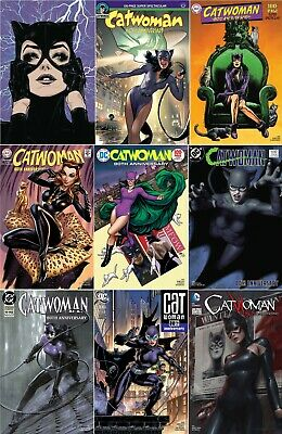 DC Comics CATWOMAN 80th ANNIVERSARY first printing 1950s Travis Charest cover