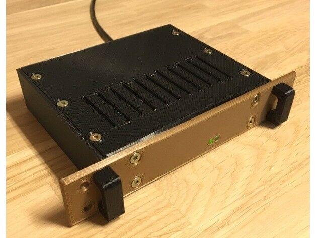 CASE MINI RACK RASPBERRY PI 3 / PI 2 / B+ COLORE A SCELTA STAMPA 3D ALTA QUALITA