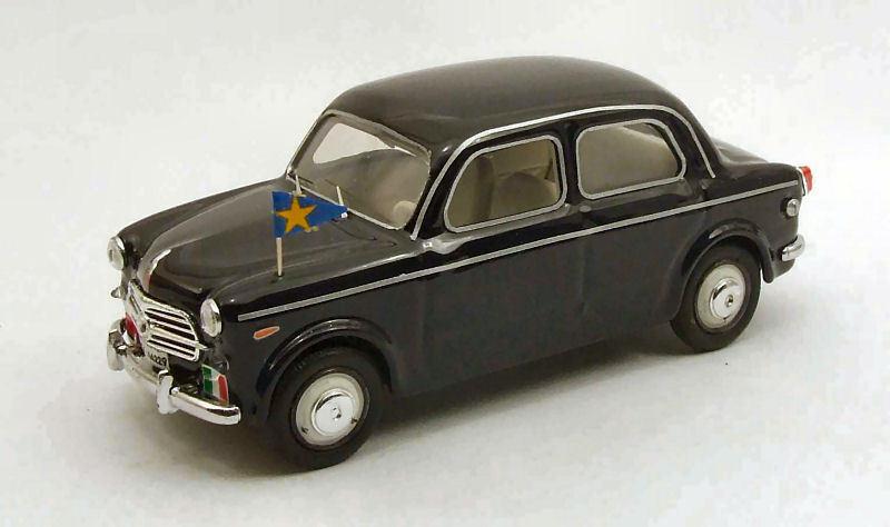 Fiat 1100-103 tv esercito italiano 1955 auto del generale rio 1 43 rio4359