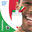Fanbrush-Flag-Face-Paints-England-Ireland-Spain-Italy-Poland-Brazil-OZ-NZ-Russia thumbnail 29