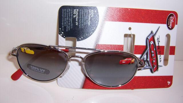 CARS LIGHTNING McQUEEN DISNEY Boys 100/% UV Shatter Resistant Sunglasses NWT $12