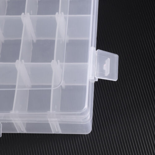 36 Compartment Organiser Storage Box Nuts Beads Jewellery Earring Craft Nail Art