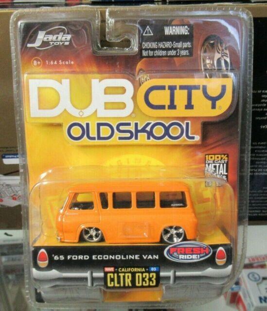 LOT 2 JADA TOYS DUB CITY OLDSKOOL 1965 FORD ECONOLINE W3 033 /& 034 1:64  #63