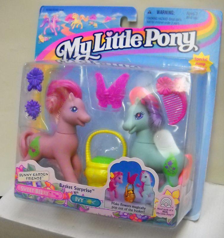 Min lilla Pony Basket Överraskning av sötsaker