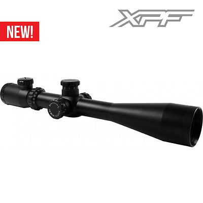 6-24x50 Dual-ill.Rifle Scope with Side Parallax & Locking Turrets W Rangefinder.