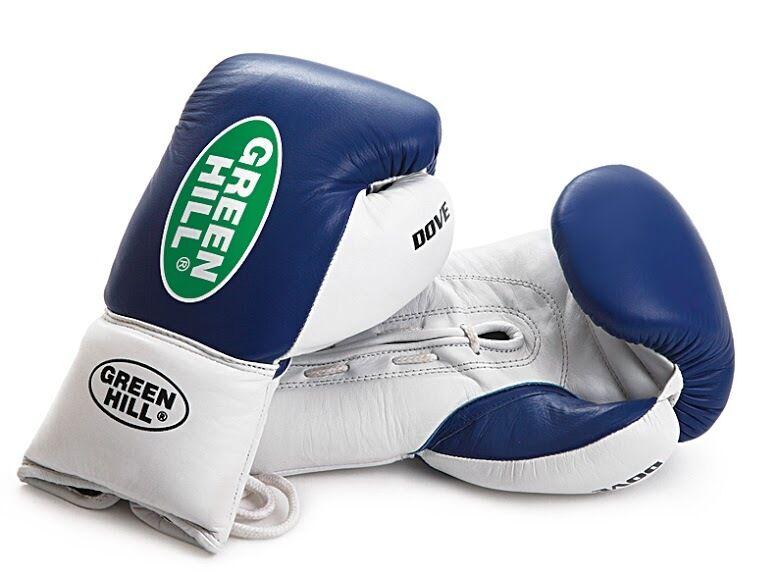 Grünhill boxing gloves professional lace Dove Leder punch lace professional 8oz 10oz fight 8a91c6