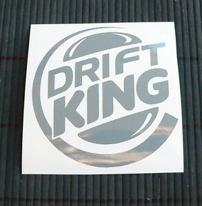 adesivo-DRIFT-KING-sticker-decal-Nissan-S13-S14-200SX-Silvia-Miata-MX5-MX-5-RX8