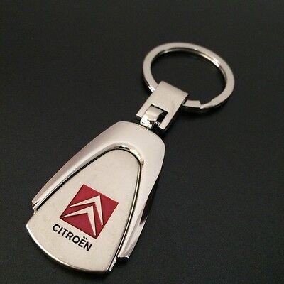 3D Car Logo Titanium Key Chain Car Keychain Ring Keyfob Metal Keyrings Gifts Fod