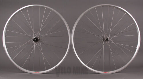 Velocity A23 Silver Rims Shimano 105 5800 32h Hubs Wheelset Road or CX Wheels