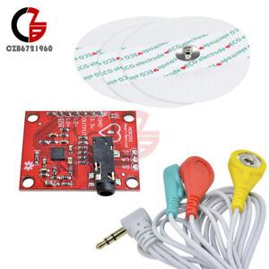 Single Lead AD8232 Pulse Heart Rate Monitor Sensor ECG Module Tool Kit
