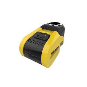 Oxford Motorcycle Quartz XA6 Alarm Disc Lock LK270 Black & Yellow Attack Tested