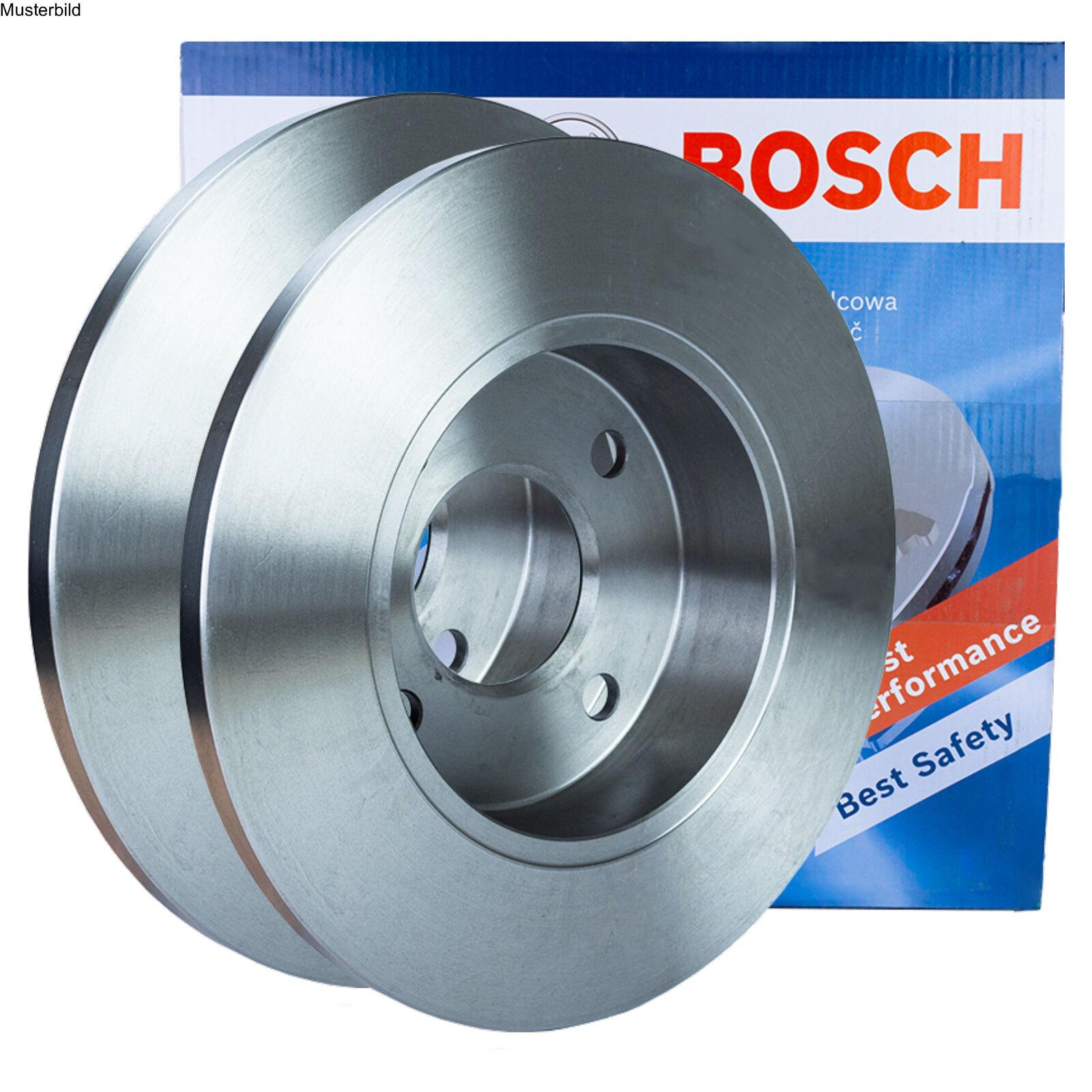 2x BOSCH Bremsscheiben Für VW Caddy 1.9 TDI 4motion 1.4 1.6 2.0 SDi 1.9 TDI