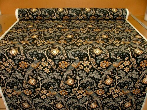 Oakmere Safran Baumwolle Vorhang Polsterung Quilt Stoff William Morris Stil