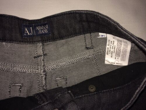Jean Noir Jeans T Armani 26 W Neuf Etat 36 Droit fwUrfvx