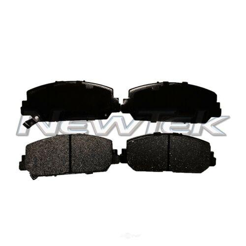 Disc Brake Pad Set-Galaxy Ceramic Disc Pads Rear NewTek SCD1596
