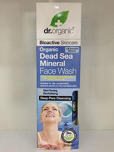 dead sea mineral face wash