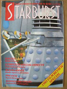 STARBURST-MAGAZINE-No-90-FEBRUARY-1986-DOCTOR-WHO-DALEKS-BACK-TO-THE-FUTURE