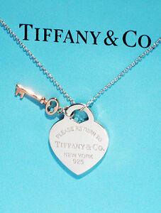 Tiffany kette herz und schlussel