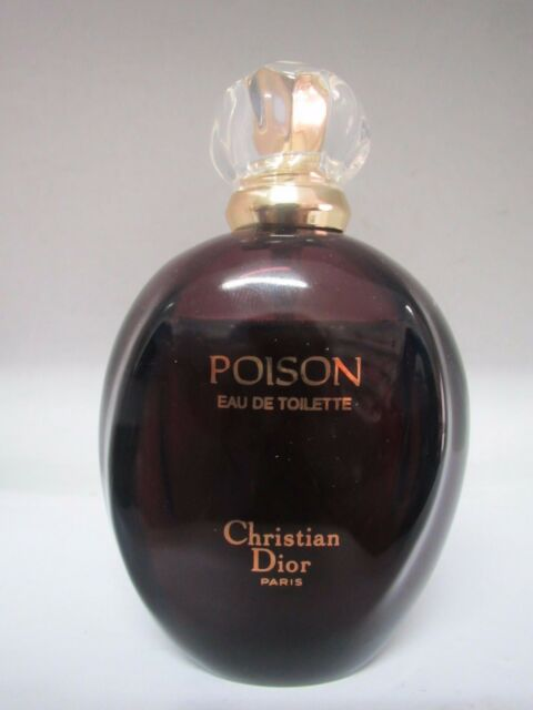 953f55c71d7b CHRISTIAN DIOR VINTAGE POISON 3.4 oz 100 ml EAU DE TOILETTE SPRAY ORIGINAL