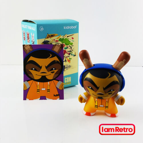 Kung Fu Kano - Designer Con Dunny Series DCon 3 Figure by Kidrobot New