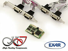Carte MiniPCIe - COM RS232 - 4 PORTS - Mini PCI Express - EXAR 17V354