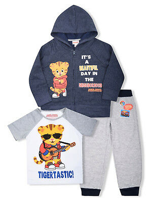 4T NWT Daniel Tiger/'s Neighborhood Daniel An Friends Pajama Set Size/'s 2T 3T