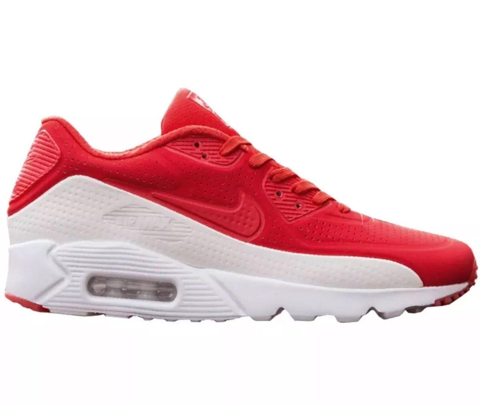 Nike air max moir 90 ultra moir max luce cremisi / red-white Uomo dimensioni (819477-611) e11e07